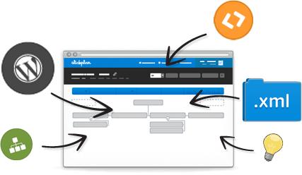 XML importing tool