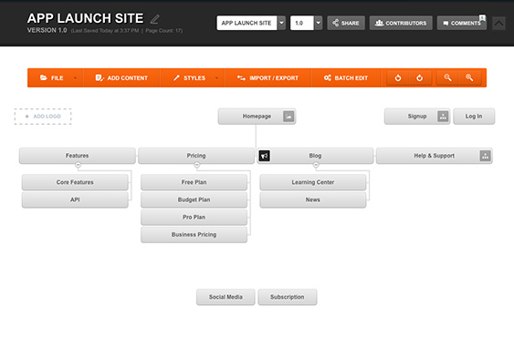 Design Website Sitemaps For Any Project