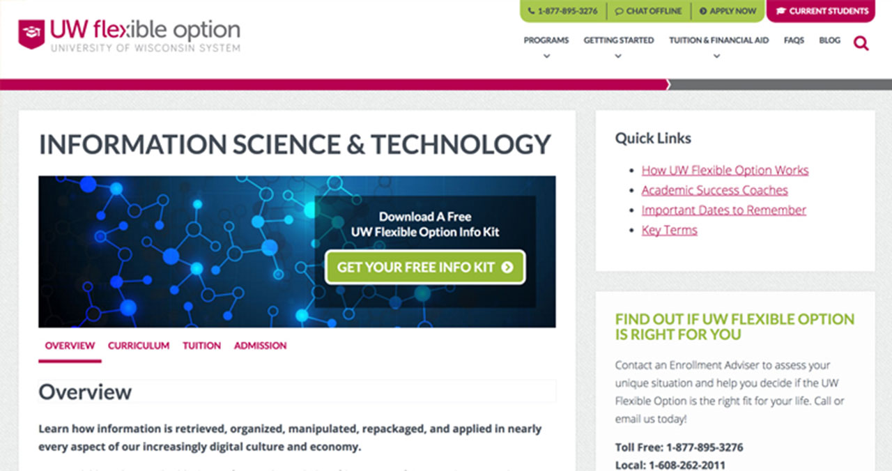 University of Wisconsin information science