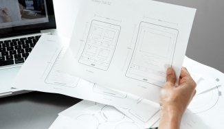design mockup sketch