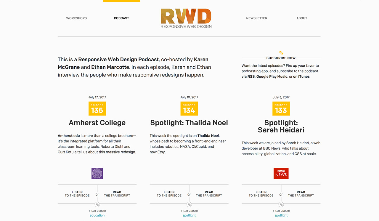 Responsivewebdesign Web Design Podcast