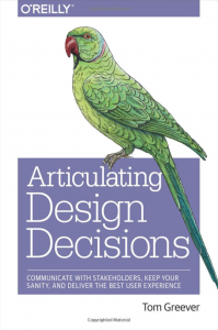 Articulating Design Decisions
