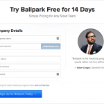 Ballpark registration