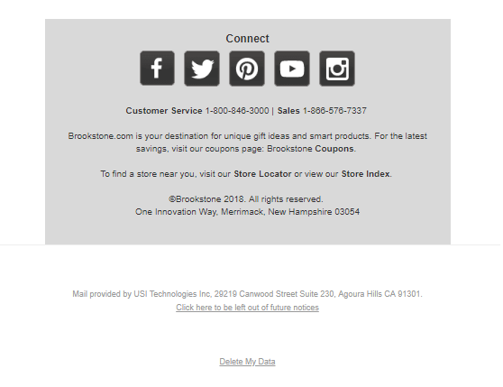GDPR delete my data