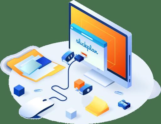 Using Slickplan