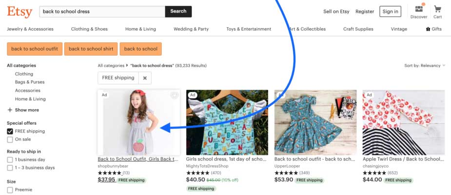 Etsy User Flow Example 04
