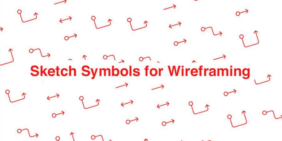 Sketch Symbols for Wireframing