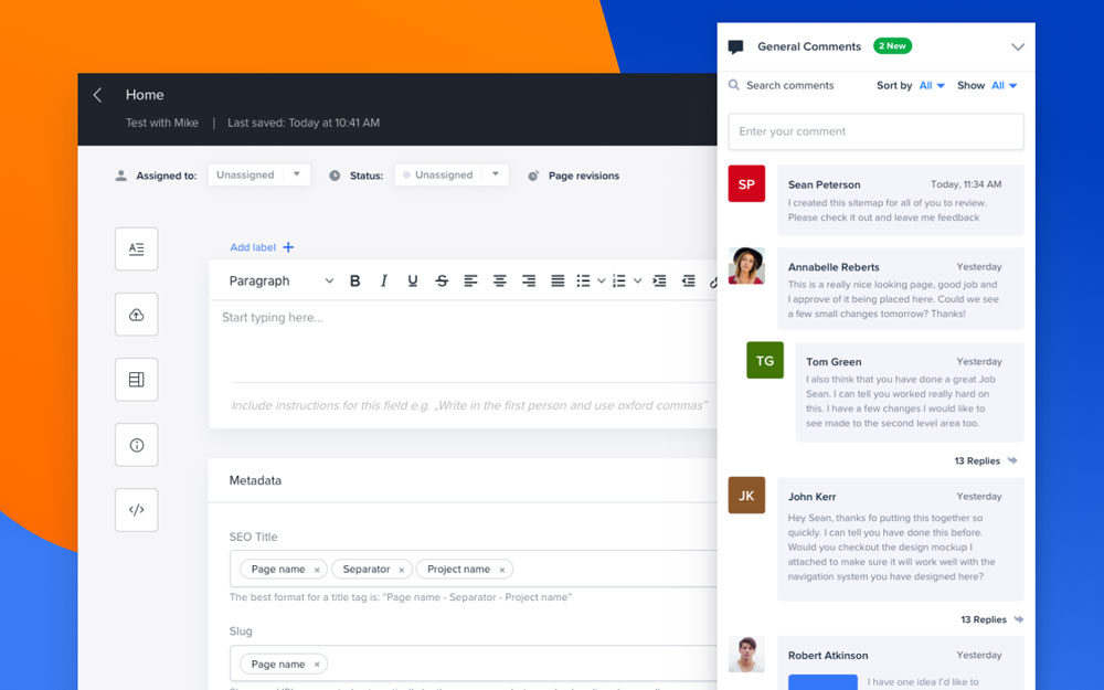 Collaboration features
